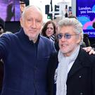 The Who's Pete Townshend and Roger Daltrey during the Music Walk of Fame (Ian West/PA)