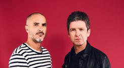 Noel Gallagher and Zane Lowe (Apple Music's Beats 1/PA)