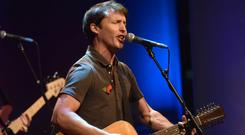James Blunt said the NHS doctors had been 'amazing' (Jeff Overs/PA)
