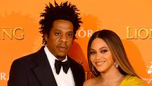 Jay-Z and Beyonce (Ian West/PA)