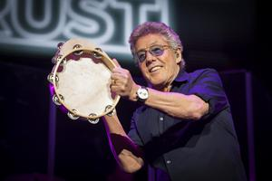 Roger Daltrey on stage during a Teenage Cancer Trust concert (PA)