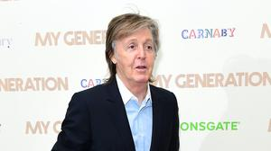 Sir Paul McCartney has called for an end to China's 'medieval' wet markets (Ian West/PA)