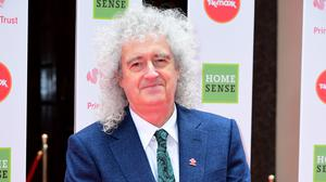 Brian May has poured praise on medical staff (Ian West/PA)