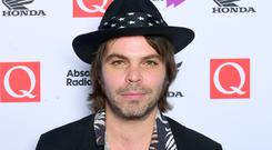 Gaz Coombes of Supergrass (Ian West/PA)