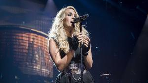 Country star Carrie Underwood (David Jensen/PA)