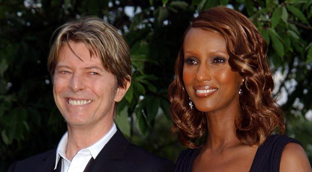 David Bowie and Iman married in 1992 (Yui Mok/PA)