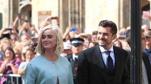 Katy Perry confirmed her pregnancy last month (Peter Byrne/PA)