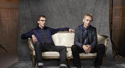 Karl Hyde (right) and Rick Smith of Underworld (Jay Brooks/LOCOG/PA)