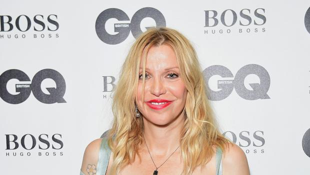 Courtney Love, who is accused of conspiring to murder her daughter's former husband (Ian West/PA)