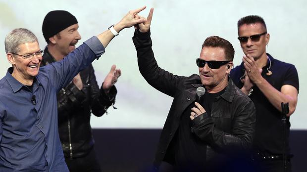 U2's latest album Songs Of Innocence was automatically distributed for free to all iTunes users