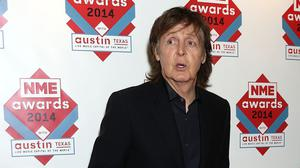 Sir Paul McCartney's old front door is being offered up for auction