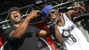 Chuck D and Flavor Flav (Photo by Rich Fury/Invision/AP, File)