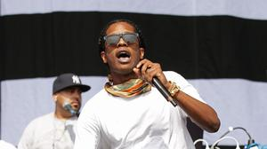 ASAP Rocky performing on the Main Stage at the Yahoo! Wireless Festival (Yui Mok/PA)