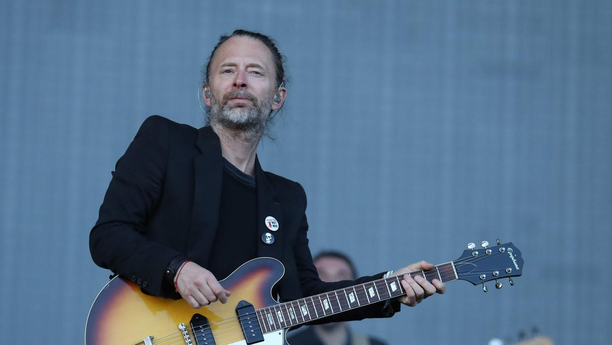 A Radiohead sketch could fetch £ 10,000 at auction
