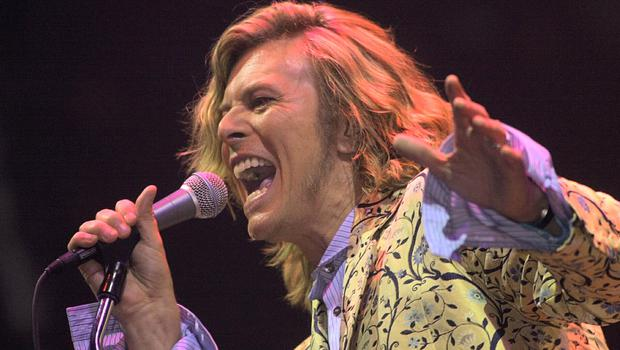 David Bowie returned in 2000 (Toby Melville/PA)