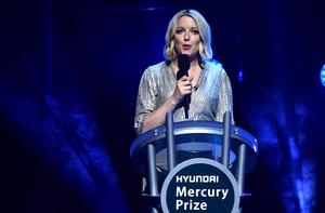 Lauren Laverne presents the award in 2019 (Ian West/PA)