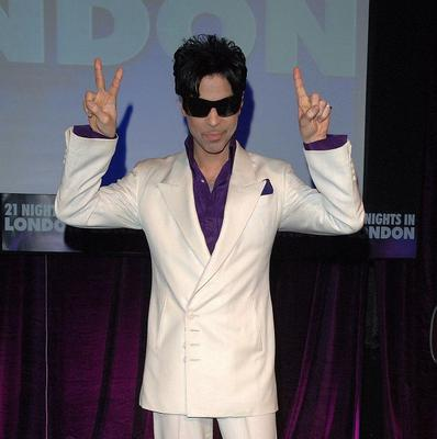 Prince has arrived in London for his new tour