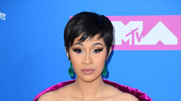 Cardi B posted a lengthy message on Instagram following reports of an altercation with Nicki Minaj (PA/PA Wire)
