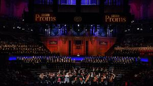 BBC Philharmonic and BBC Proms Youth Choir at the BBC Proms (BBC/Chris Christodoulou)