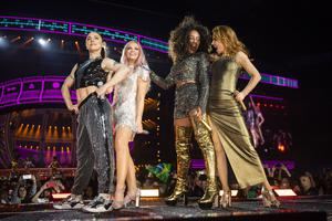 The Spice Girls in concert at Wembley Stadium (Andrew Timms)