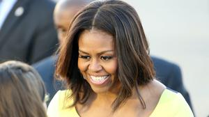 Former first lady Michelle Obama paid a glowing tribute to 'my girl' Beyonce, as the singer was honoured for her philanthropy work (Chris Radburn/PA)
