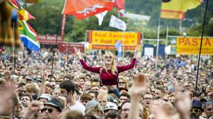 This year's festival was supposed to mark 50 years of Glastonbury (Ben Birchall/PA)