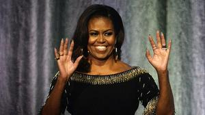 Former US First Lady Michelle Obama sent a message to Beyonce (Kirsty O'Connor/PA)