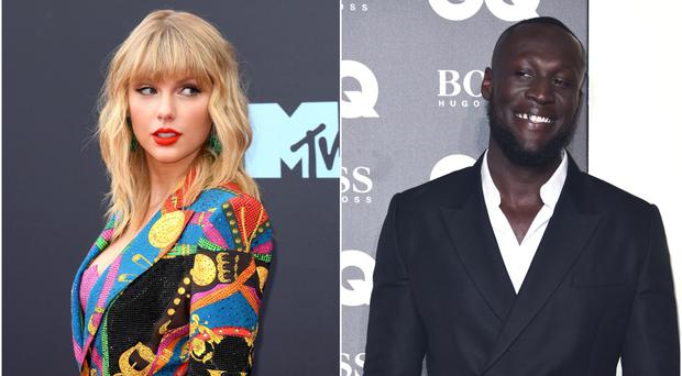 Taylor Swift and Stormzy will perform at the Jingle Bell Ball (PA)