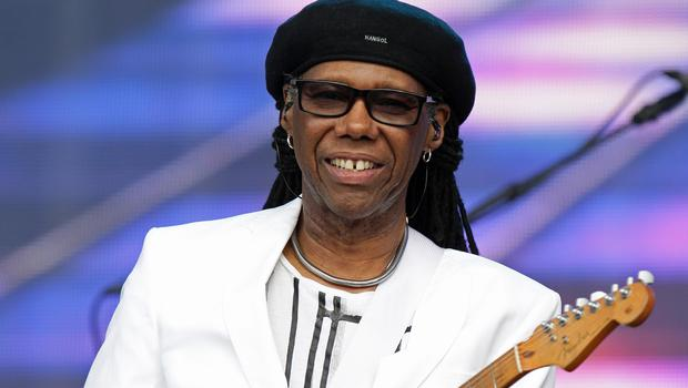Nile Rodgers was cheered by the Hyde Park crowd
