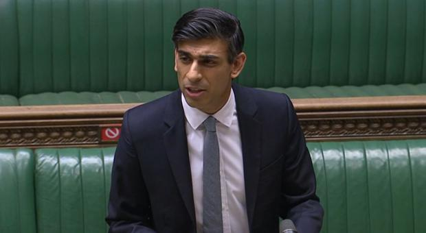 Chancellor Rishi Sunak has unveiled his Budget (House of Commons/PA)