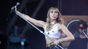 Miley Cyrus is the latest in a string of stars sharing their experiences of self-isolation (Aaron Chown/PA)