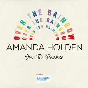 The cover of Amanda Holden's Over The Rainbow single (VirginEMI/MandS).