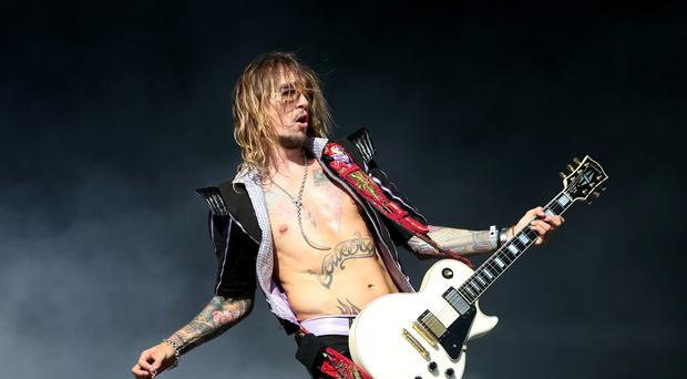 Justin Hawkins appeared on The Masked Singer (Ian West/PA)