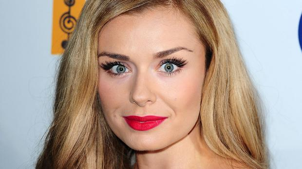 Katherine Jenkins said she and her husband are excited about her pregnancy