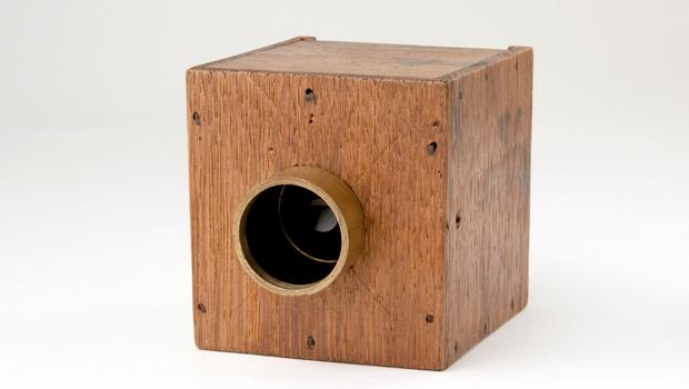 William Henry Fox Talbot's mousetrap camera (The RPS Collection at the VandA)