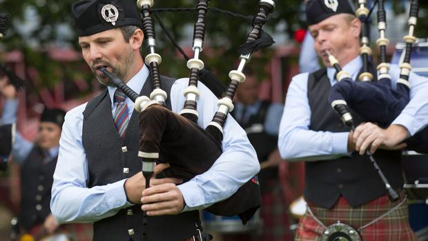 The World Pipe Band Championships in Glasgow (David Cheskin/PA)