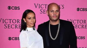 Mel B has spoken about having a row with her husband Stephen Belafonte