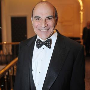 David Suchet watches hours of old Poirot episodes to get back into character