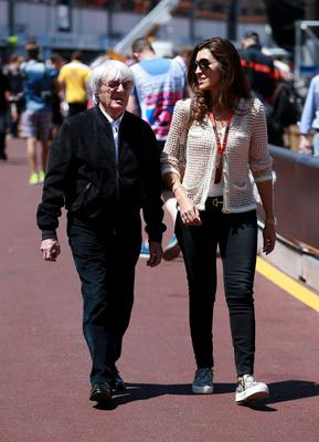 Ecclestone and Flosi have recently had a son (David Davies/PA)