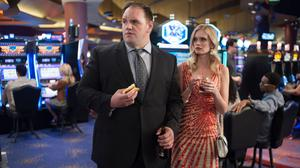 Ethan Suplee and Sara Paxton in a still from Twin Peaks (Suzanne Tenner/SHOWTIME)