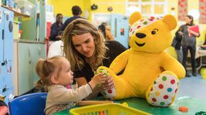 Nadine Coyle joins Children In Need play campaign (BBC Children In Need)
