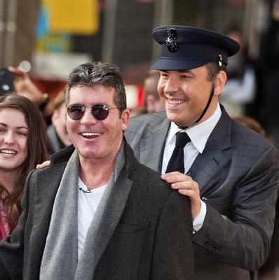 Britain's Got Talent judges Simon Cowell and David Walliams are caught in a war of gags