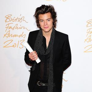 Harry Styles won the award for British Style at the ceremony
