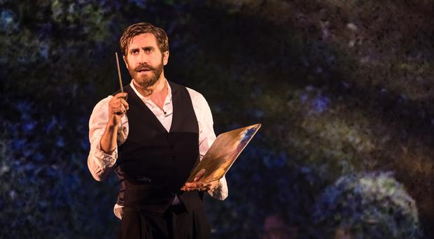 Jake Gyllenhaal in Sunday In The Park With George (Matthew Murphy/PA)