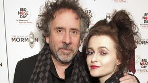 Tim Burton and Helena Bonham Carter have split up