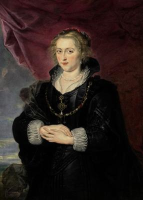 Sir Peter Paul Rubens, Portrait Of A Lady (Sotheby's)