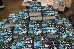 Copies of Hilary Mantel's book the Mirror And The Light (Yui Mok/PA)