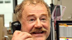 Game of Thrones star Owen Teale. The show has registered impressive viewing figures