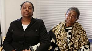 """Ava (left) and Pansy Blake, called for Sian's boyfriend Arthur Simpson-Kent to be """"brought back to justice"""""""