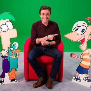 Richard Hammond and his fellow Top Gear presenters are the latest stars to work on Phineas And Ferb